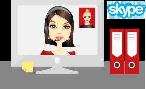 online Nederlands leren via Skype